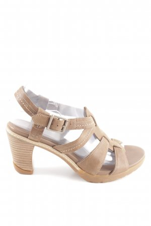 Timberland Clog Sandals natural white casual look