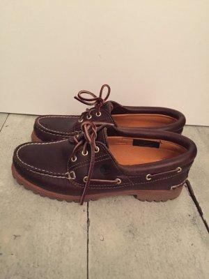 Timberland Damen Schuhe 3-Eye Segelschuhe 8,5 39,5