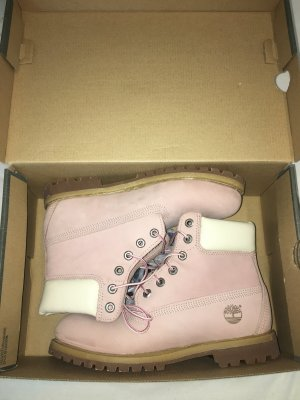 Timberland Damen Stiefel Boots 6in Premium Pink Rose Mauve Gr. EU 39 UK 6 NEU