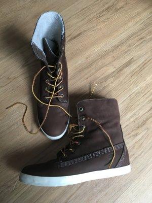 Timberland Earthkeeper Boots Stiefeletten Stiefel braun Echtleder neuwertig