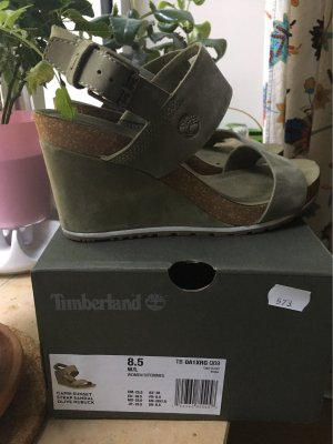 Timberland Wedge Sandals khaki