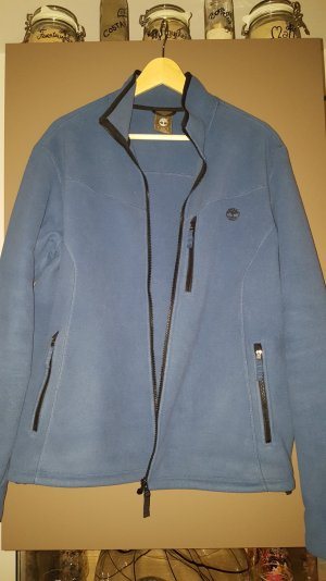 Timberland Fleecejacke in Blau, wie neu, Slim Fit