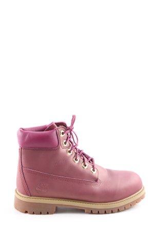 Timberland Halfhoge laarzen roze casual uitstraling