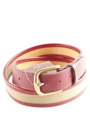 Timberland Cinturón de cadera rojo oscuro-marrón arena look casual