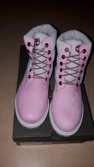 timberland in pink weis