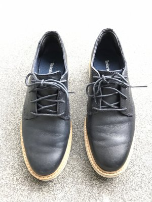Timberland Lace Shoes white-dark blue