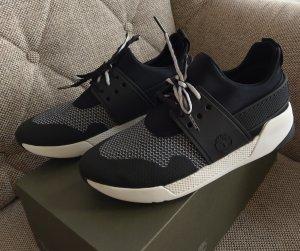 Timberland Kiri up knit Oxford negro gr. 39 sneaker neu schwarz weiß