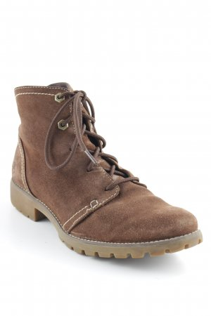 Timberland Botte courte brun style d'affaires