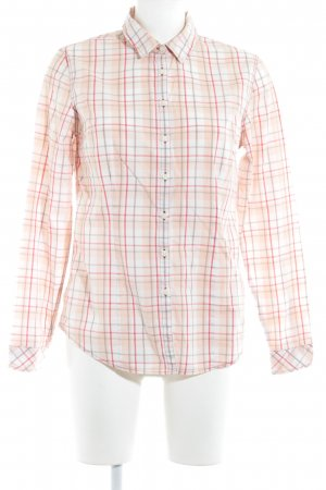 Timberland Langarm-Bluse Glencheckmuster Casual-Look