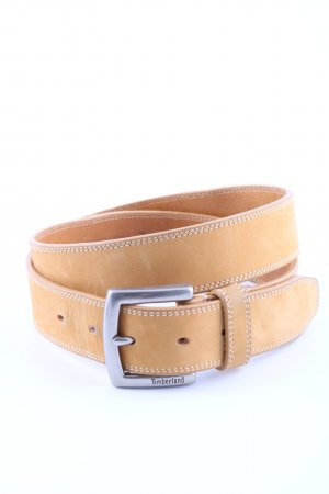Timberland Leather Belt light orange casual look