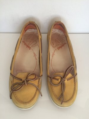 Timberland Loafer/Slipper/Segelschuhe in Gelb Gr.36
