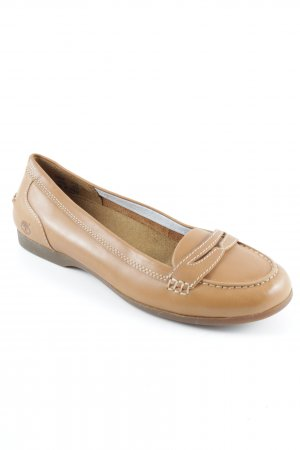 Timberland Mary Jane Ballerinas cognac-coloured-brown casual look
