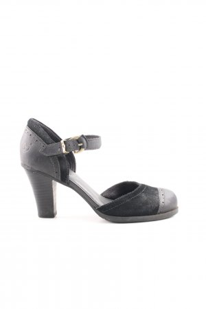 Timberland Mary Jane Pumps schwarz Business-Look