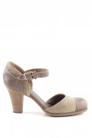 Timberland Mary Jane Pumps braun-nude Business-Look