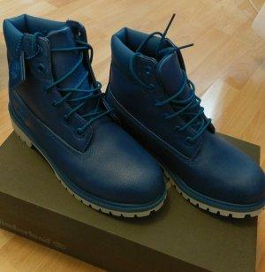 Timberland Mykonos edition neu boots stiefel blau schnürstiefel