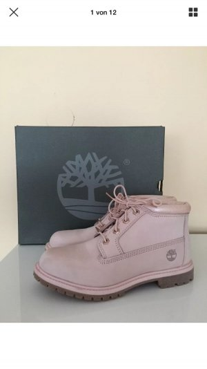 Timberland Low boot rosé cuir