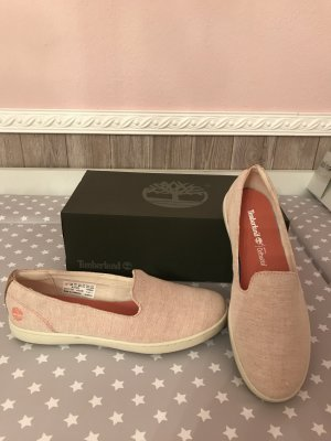 Timberland neu Sneaker 38,5 Slipper Halbschuhe Canvas