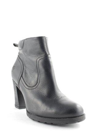 Timberland Reißverschluss-Stiefeletten schwarz klassischer Stil