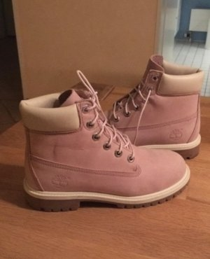 Timberland Booties rose-gold-coloured
