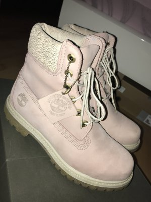 Timberland's in rosa