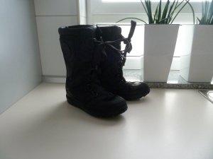 Timberland Schnee Stiefel Leder Mukluks schwarz Top Zustand Gr. 36