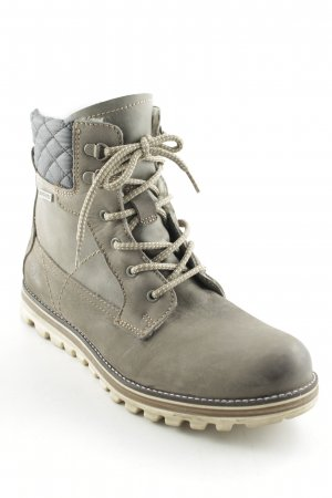 Tamaris Lace-up Booties grey casual look