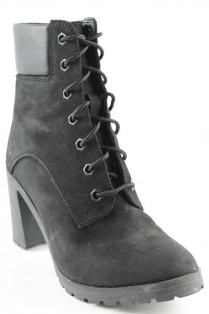 Timberland Lace-up Booties black casual look