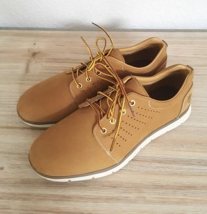 Timberland Low Shoes cognac-coloured-brown leather