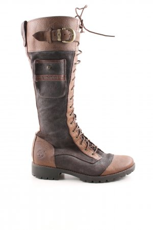 Timberland Lace-up Boots bronze-colored-brown casual look