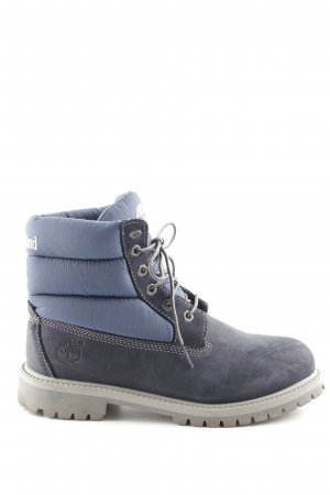 Timberland Lace-up Boots blue-light grey casual look