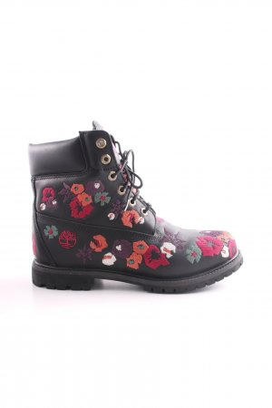 Timberland Lace-up Boots allover print casual look