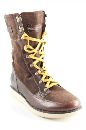 Timberland Lace-up Boots brown-gold orange country style