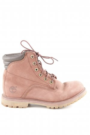 Timberland Lace-up Boots brown red-brown classic style