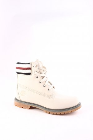 Timberland Lace-up Boots cream athletic style