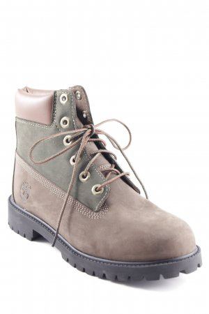 Timberland Lace-up Boots multicolored street-fashion look