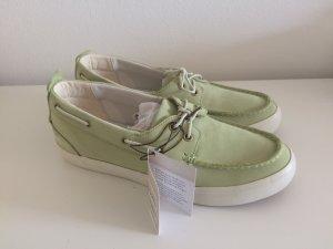 Timberland Zapatos de marinero verde pálido-verde claro