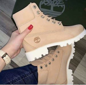 Timberland Schuhe Stiefel nude Blogger 37