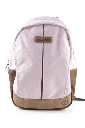 Timberland School Backpack pink-brown casual look