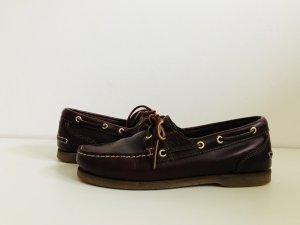 Timberland Segelschuhe Bootschuhe Schuhe Damen W 39 braun Leder