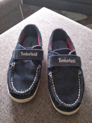 Timberland Zapatos formales sin cordones azul oscuro