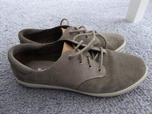 Timberland Sneaker Leder Grau 40