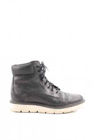 Timberland Snow Boots black-natural white casual look