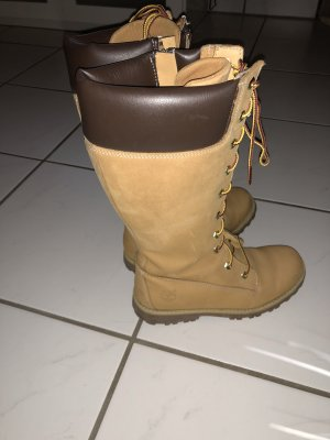 Timberland Lace-up Boots camel
