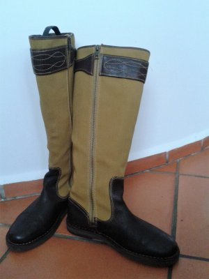Timberland Stiefel, handgenäht, Robustes Leder mit Textil