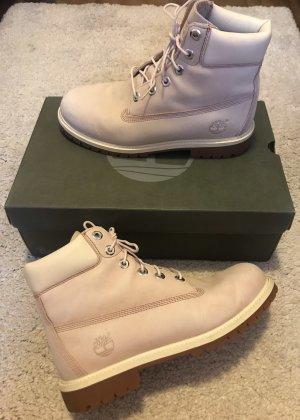 Timberland Short Boots pink