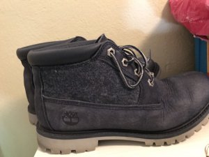 Timberland Lace-up Booties steel blue-grey