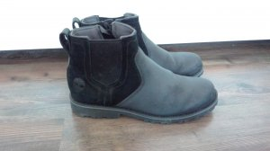 Timberland Chelsea Boots black leather