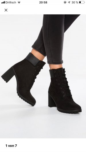 Timberland Lace-up Booties black