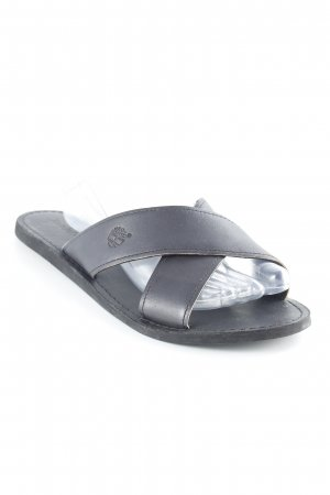 Timberland Beach Sandals black casual look