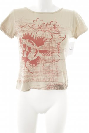 Timberland T-Shirt beige Casual-Look